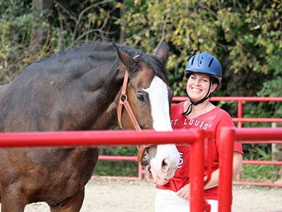 Equine-assisted therpay summer program