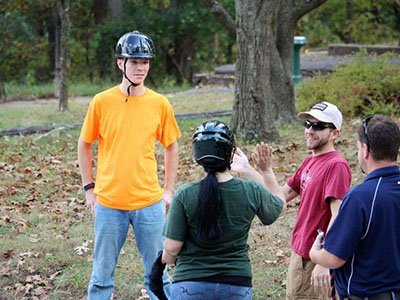 Summer equine-assisted learning group
